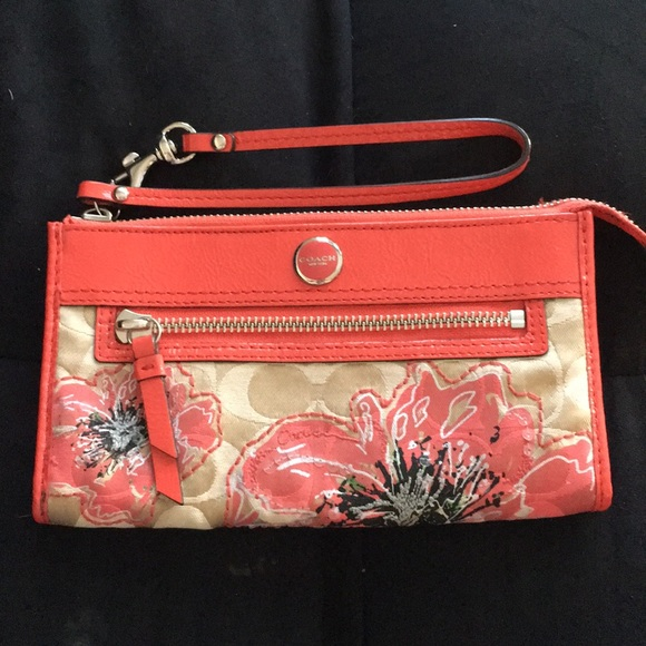 Coach Handbags - Floral Coach Wallet